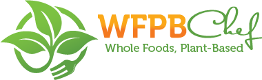 Whole Food, Plant-Based Chef Logo